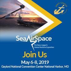 SeaAirSpace logo